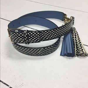 SALE Kate spade belt brand nwt black blue